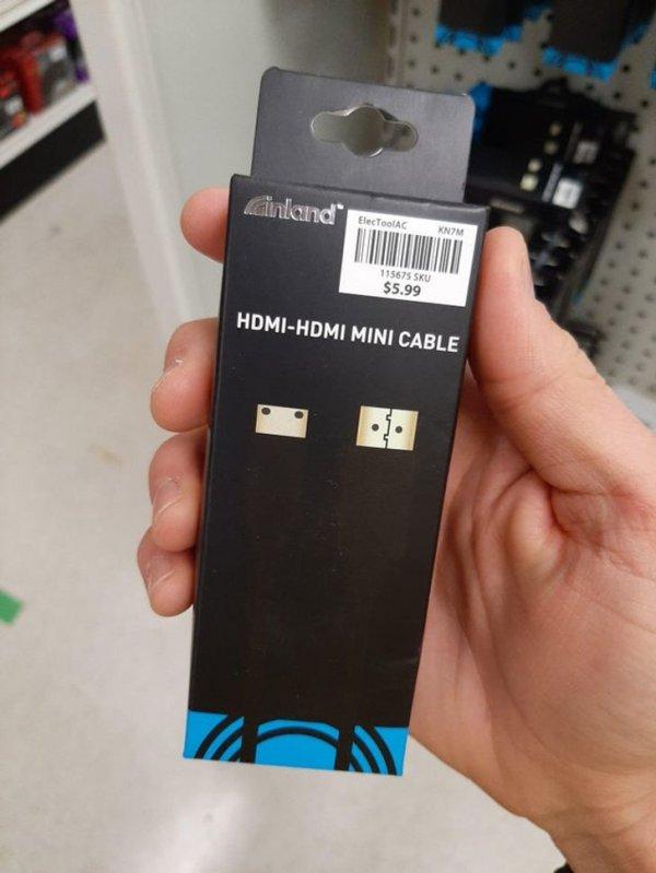 Черное изображение на черной коробке