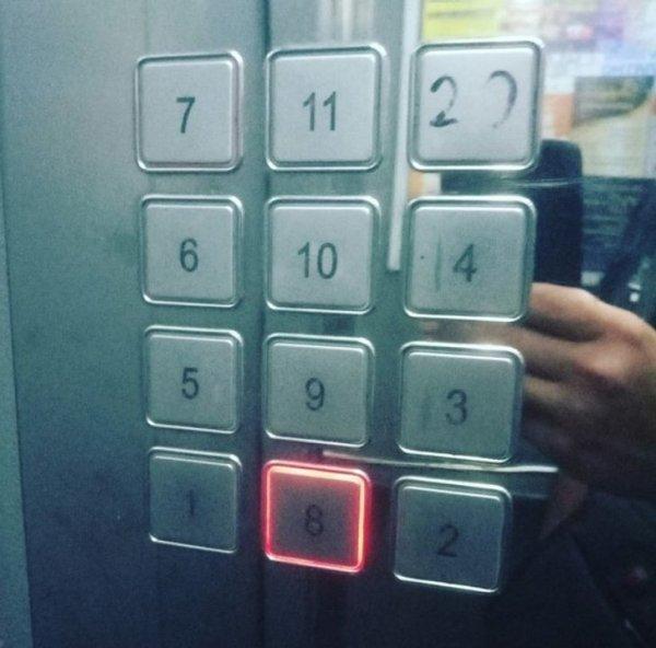 Очень удобная раскладка кнопок получилась
