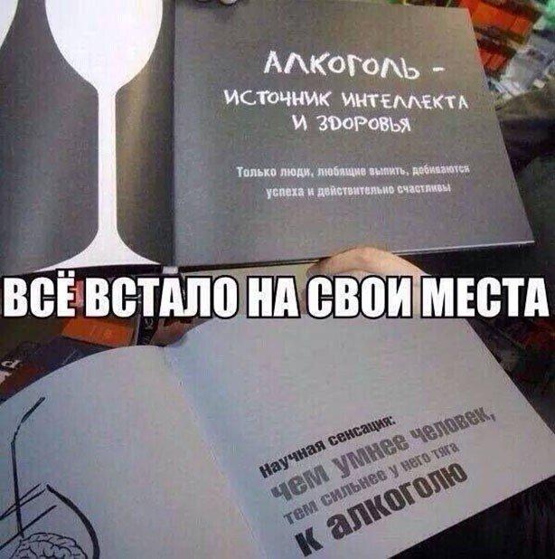Приколы про алкоголь и любителей выпить