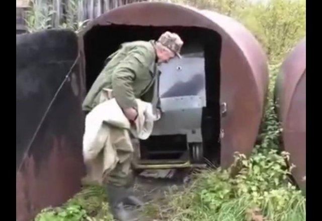 Необычный аппарат, на котором многие захотели бы прокатиться