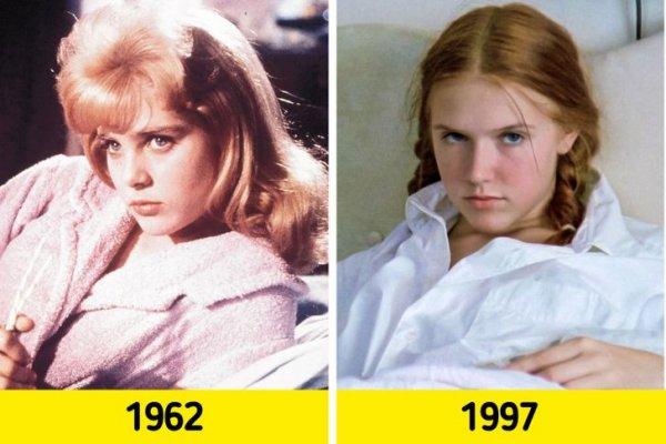 Лолита: Сью Лайон в 1962 году и Доминик Суэйн в 1997-м
