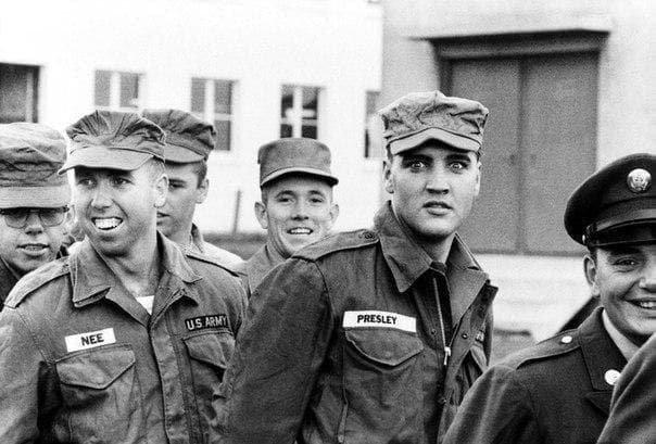 Рядовой Элвис Пресли, 1958 год
