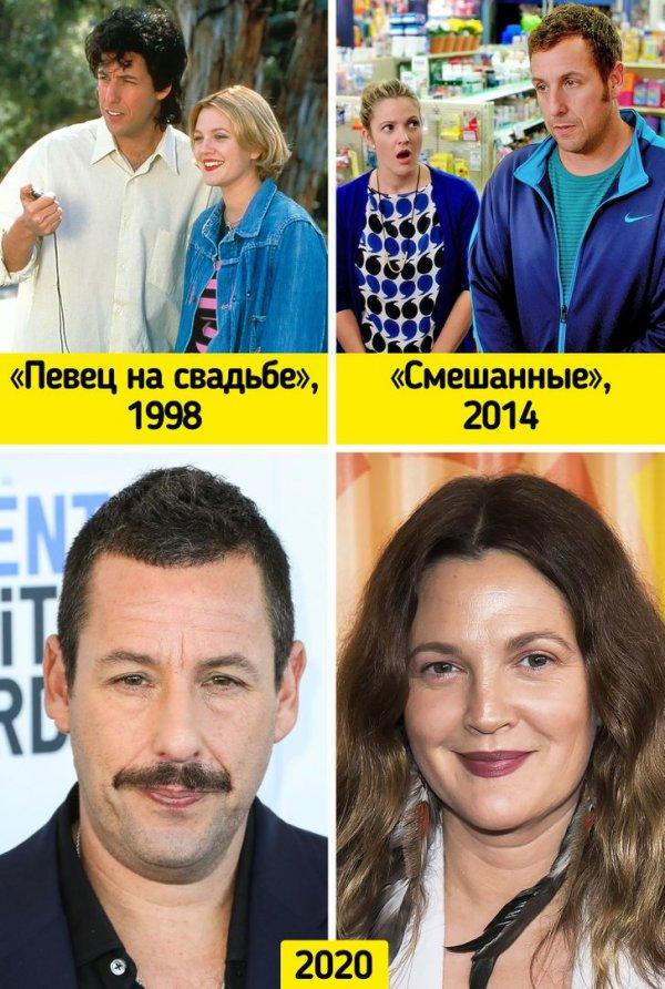 Адам Сэндлер и Дрю Бэрримор