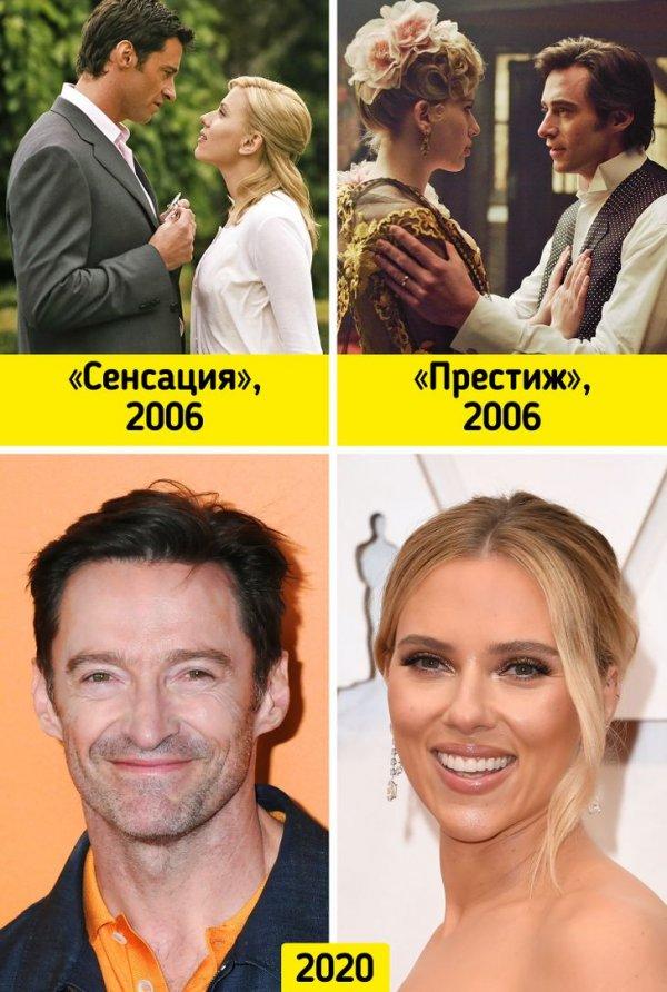 Хью Джекман и Скарлетт Йоханссон