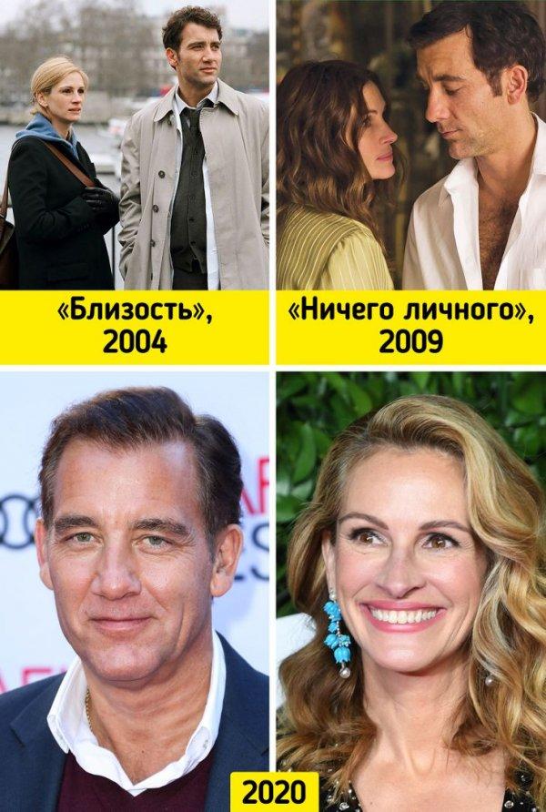 Клайв Оуэн и Джулия Робертс