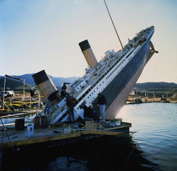 Модель корабля, созданная для «Титаника»