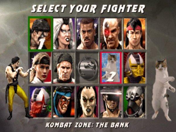 Выберите своего бойца