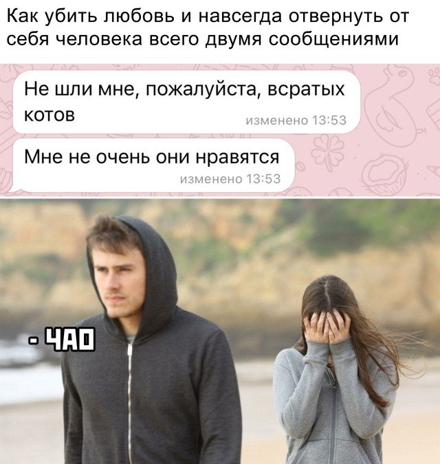 Переписка с девушкой