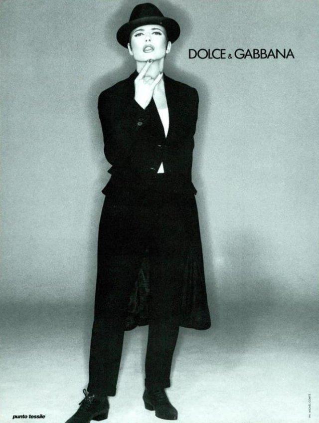 Изабелла Росселини в стиле нуар, 2004 г.