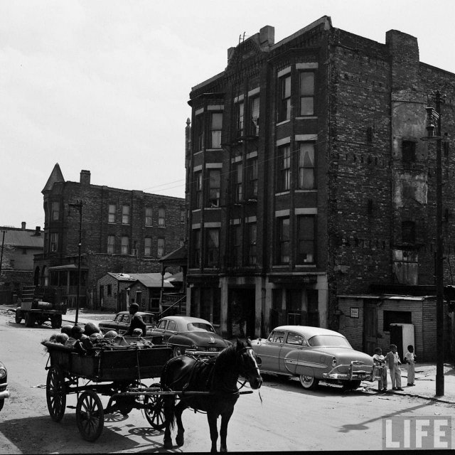 Чикаго, 1954 год.