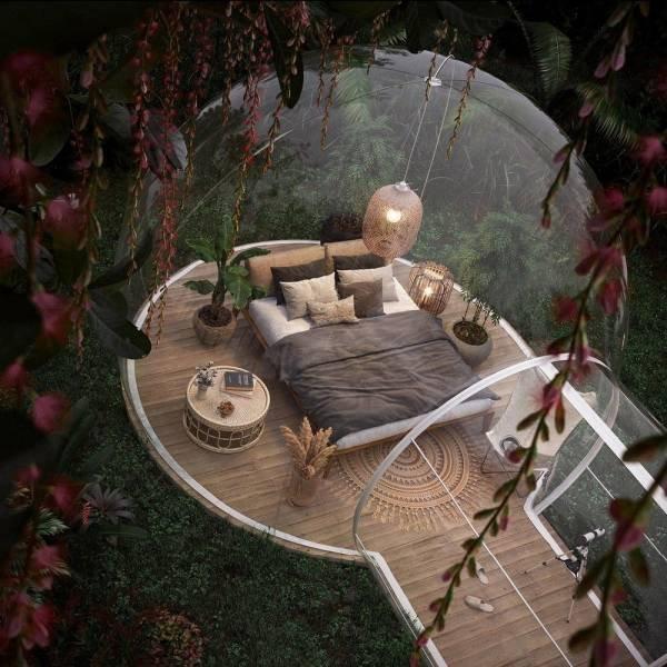 Уютный отдых в лесу
