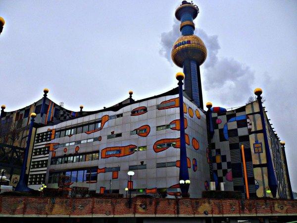 Müllverbrennungsanlage Spittelau, Вена, Австрия