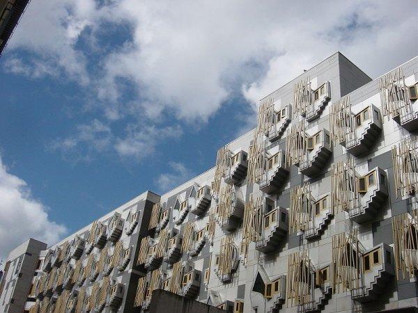 MSP building, Эдинбург, Шотландия