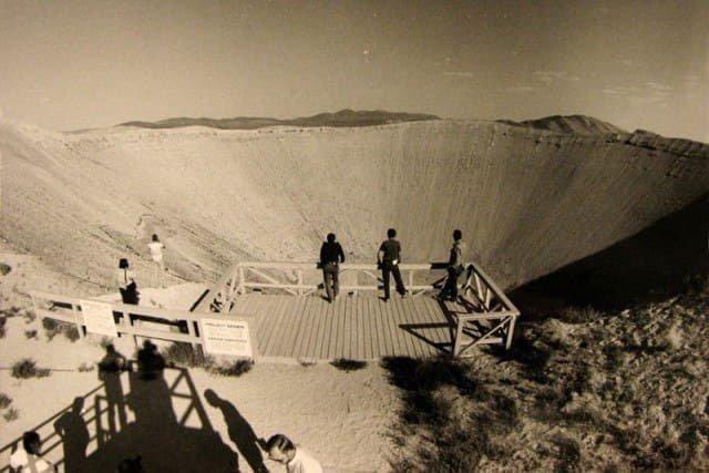 Туристы на ядерном полигоне Невады, 1950-е