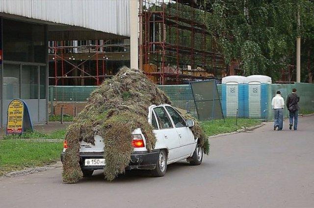 Перевозка груза на машине