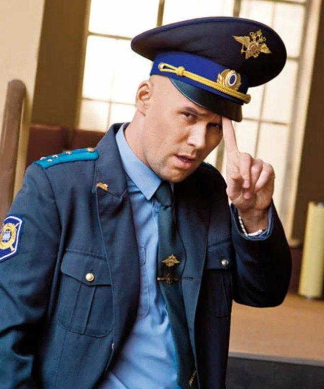 Максим Аверин - полицейский