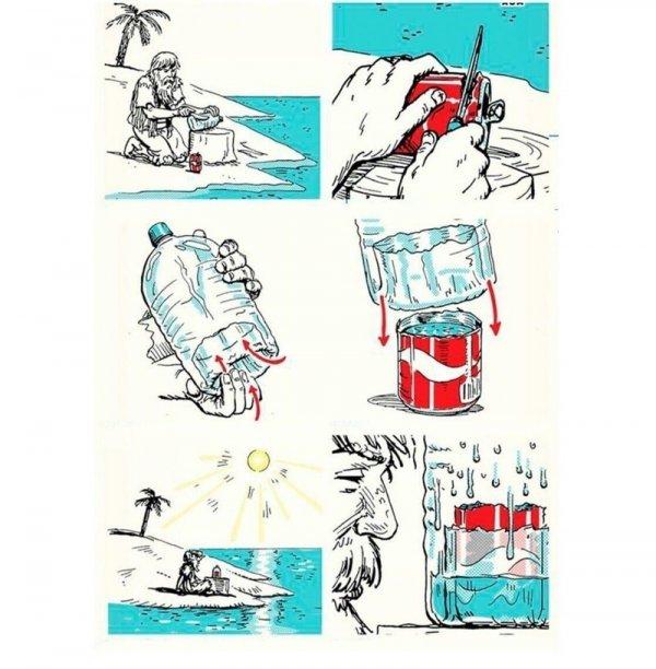 Как добыть пресную воду