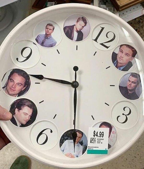 часы с леонардо дикаприо