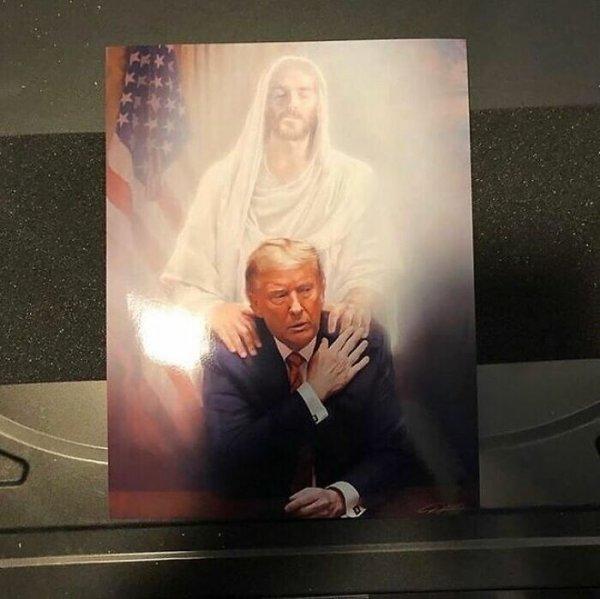 Иисус и трамп