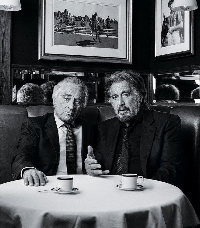 Роберт Де Ниро и Аль Пачино. 2019 год