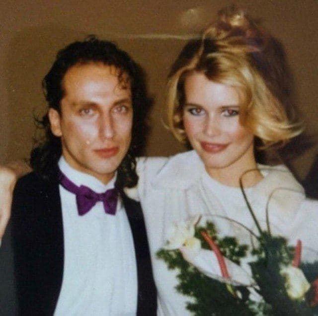 Дмитрий Нагиев и Клаудиа Шиффер, 1997 год.