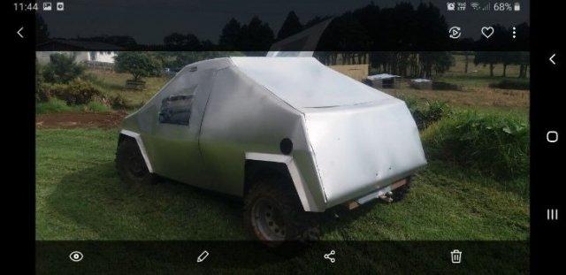Самая странная реплика Tesla Cybertruck из Новой Зеландии все же нашла покупателя