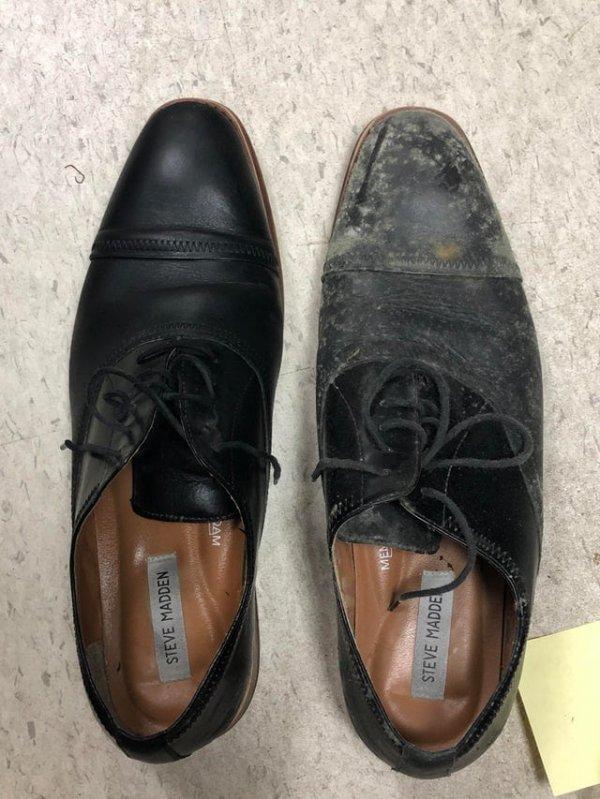 Что будет, если забыть обувь в офисе на 7 месяцев