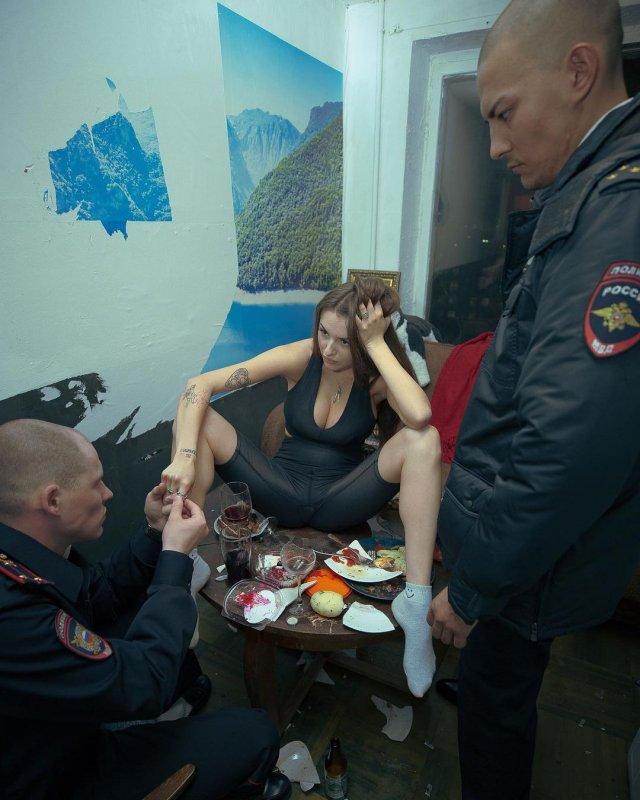 Маргарита Коновалова из Pussy Riot на фотосессии