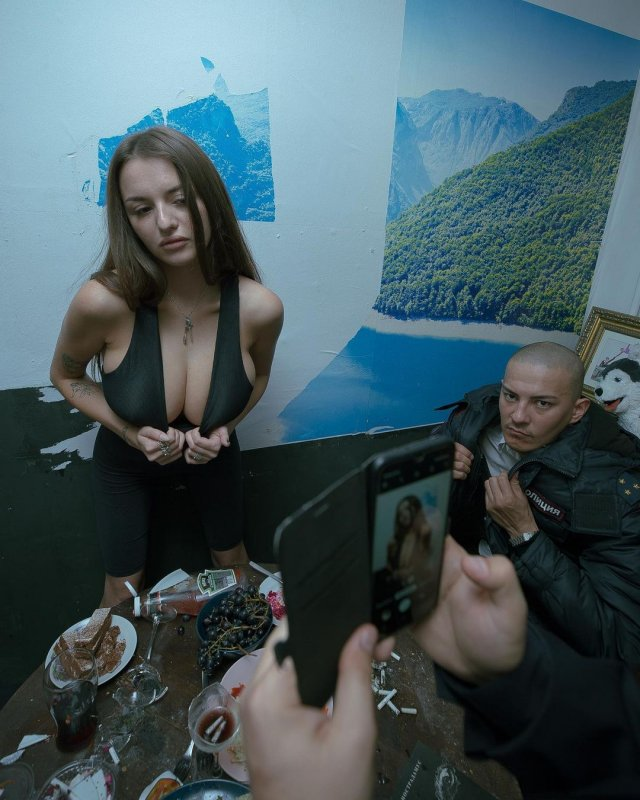Маргарита Коновалова из Pussy Riot на допросе