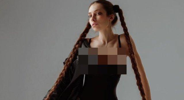 Алена Ануфриева: «Рапунцель» из Днепра с волосами до пят, работающая адвокатом