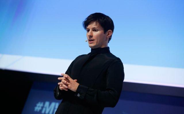 Павел Дуров выступает