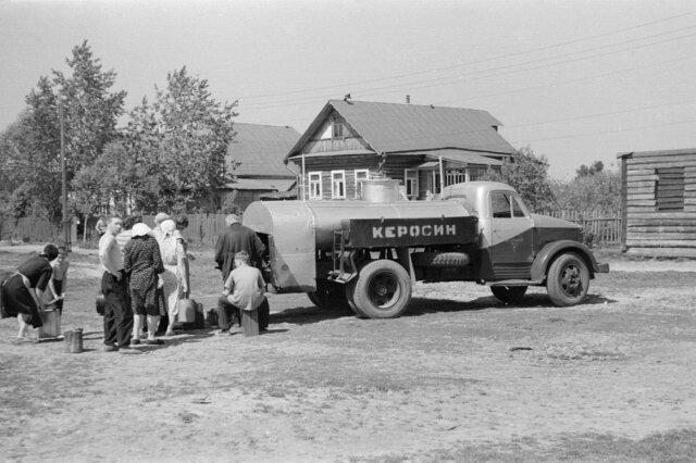 Керосин на розлив. Московская область, Долгопрудный. 1963