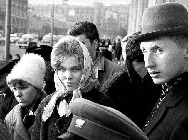 Разные лица в Москве, 1962