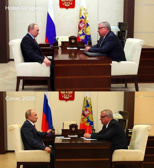 Слух дня: Путину построили в Сочи копию кабинета Ново-Огарево — чтобы никто не знал, где он