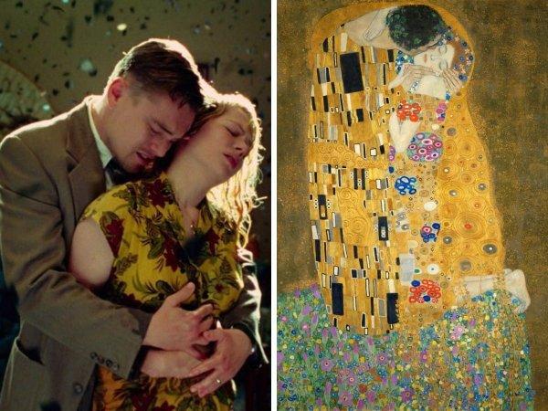 «Остров проклятых», Мартин Скорсезе, 2010 год — «Поцелуй», Густав Климт, 1909 год
