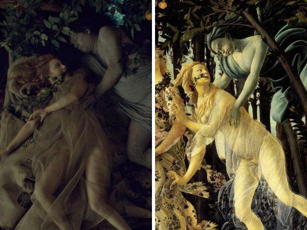 «Ганнибал», Майкл Раймер, 2013 год — «Весна», Сандро Боттичелли, 1477 год