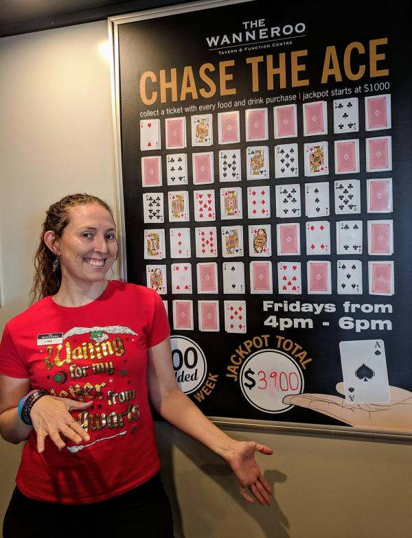 "лотерейная игра ""Chase the ace"""