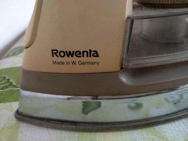 Утюг, произведенный еще в Западной Германии