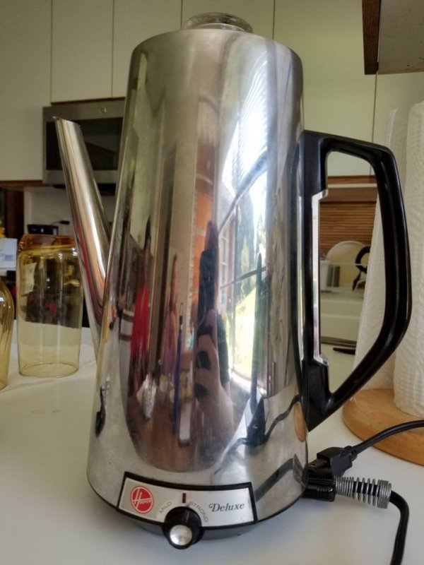 Электрический чайник, которому уже 63 года