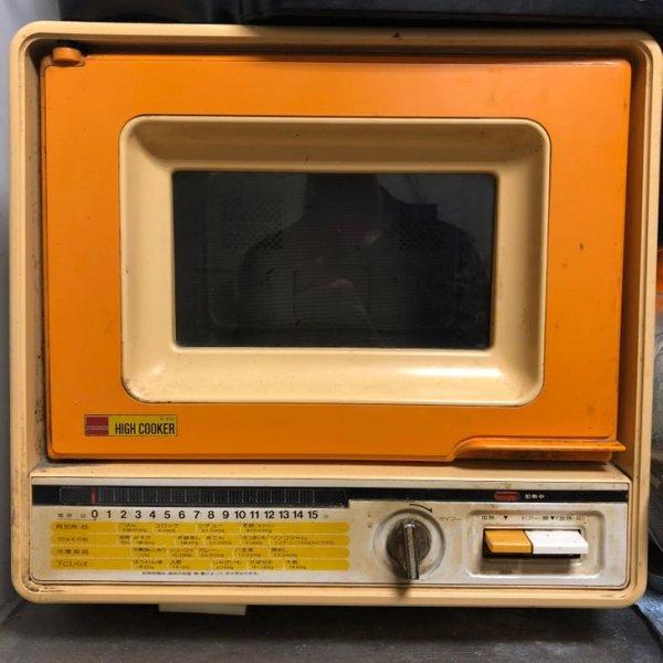 Винтажная микроволновая печь