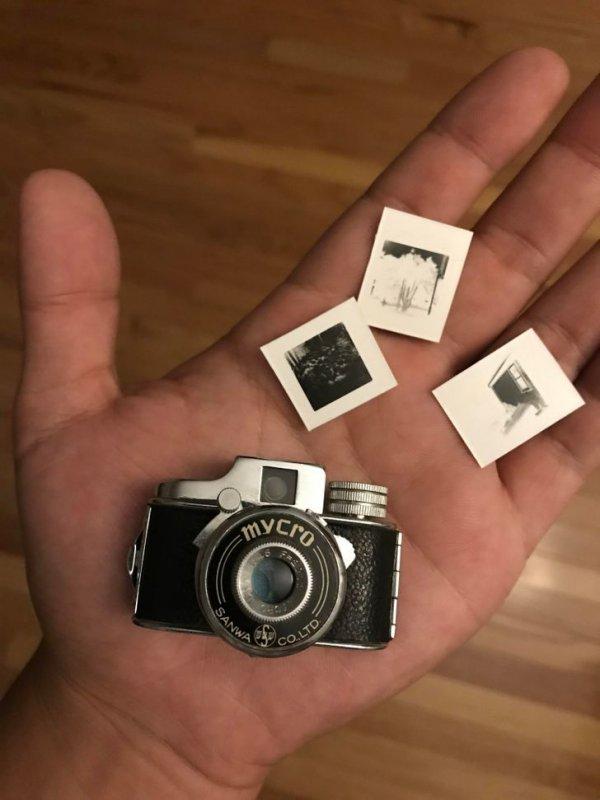 Этому миниатюрному фотоаппарату уже более 70 лет