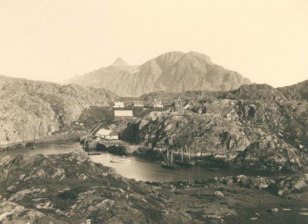Город Сисимиут. 1889 г.