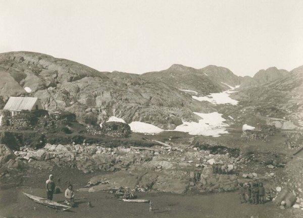 Рядом с поселком Кангек. 1889 г.