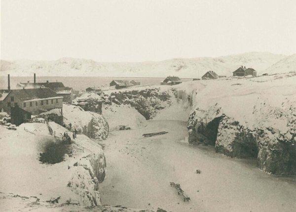 Криолитовый карьер в Ивиттууте
