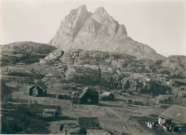 Город Уумманнак. 1889 г.