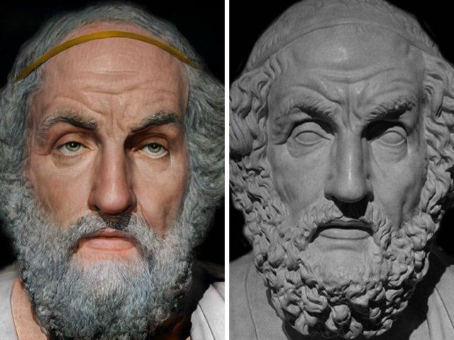 Гомер — древнегреческий поэт