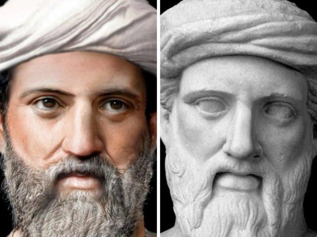 Пифагор — древнегреческий философ и математик