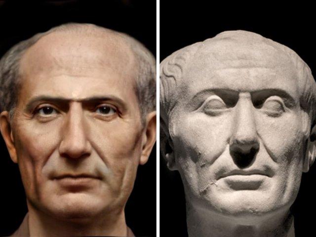 Гай Юлий Цезарь — древнеримский политик и полководец