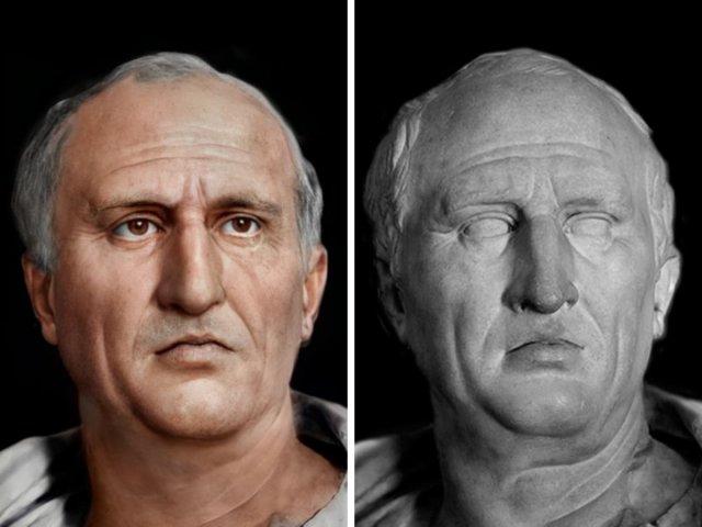 Марк Туллий Цицерон — древнеримский политический деятель, оратор и философ