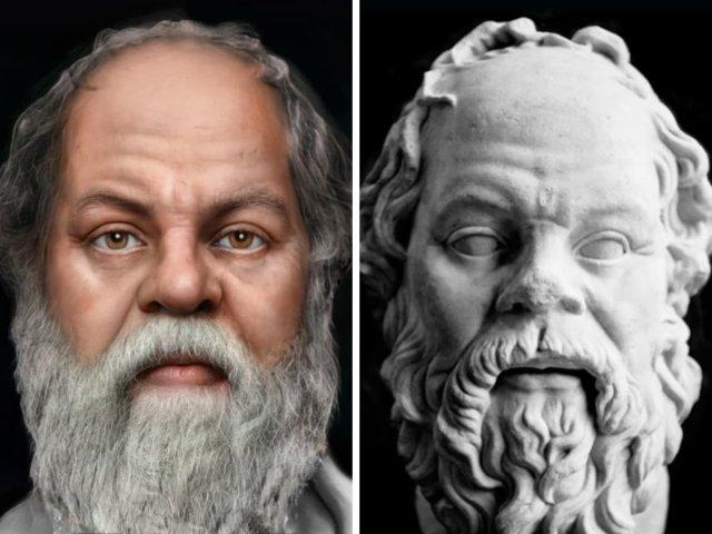 Сократ — древнегреческий философ